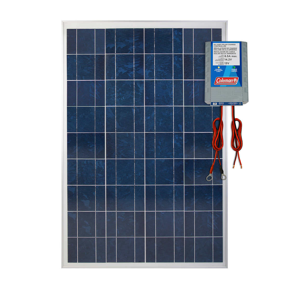 Walmart Cm: Coleman 100W Solar Panel With 8.5 AMP Charge Controller