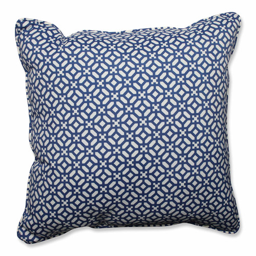 Pillow Perfect Outdoor/ Indoor In The Frame Sapphire 25-inch Floor Pillow