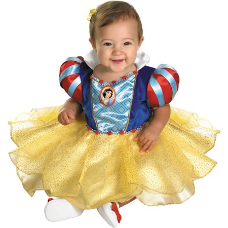 Morris costumes DG50487W Snow White Infant 12-18Mos. - Snow White Costume Infant