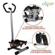 Clevr Twister Stepper Step Machine Cardio Fitness Trainer Stair Climber