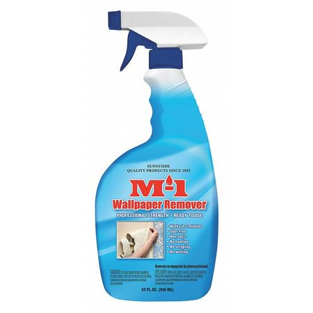 M-1 79332M 1 qt. Liquid Wallpaper Stripper, Water