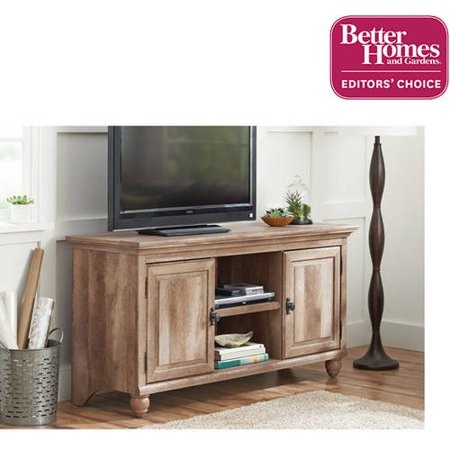 Better homes and gardens crossmill collection tv stand buffet for tvs up to 65 Home garden television