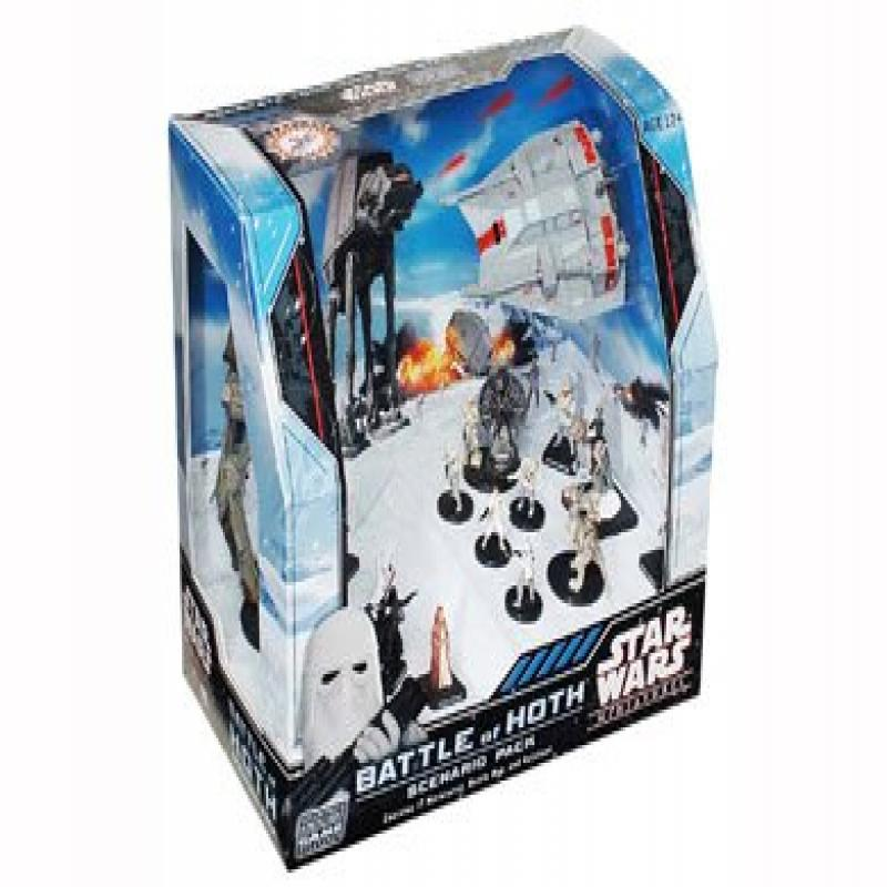 Wizards Of The Coast Star Wars Miniatures Battle of Hoth ...