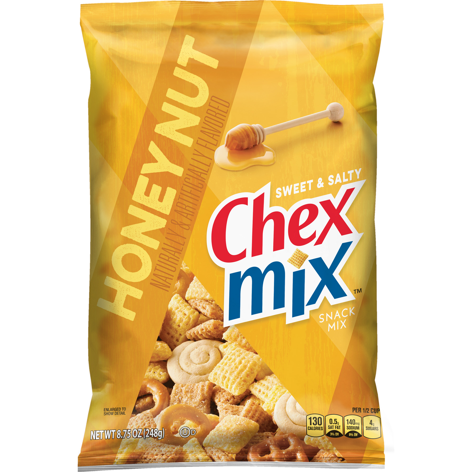 Chex Mix Sweet and Salty Honey Nut Snack Mix, 8.75 oz