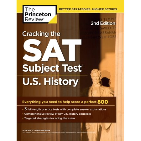 Cracking the SAT Subject Test in U.S. History, 2nd Edition : Everything You Need to Help Score a Perfect 800 - Need Help Batman Halloween