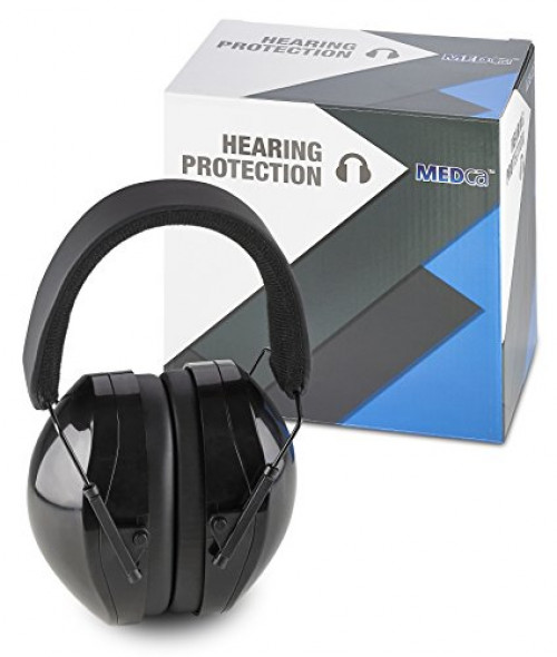 Hearing Protection Ear Muffs Fully Adjustable Professional Noise