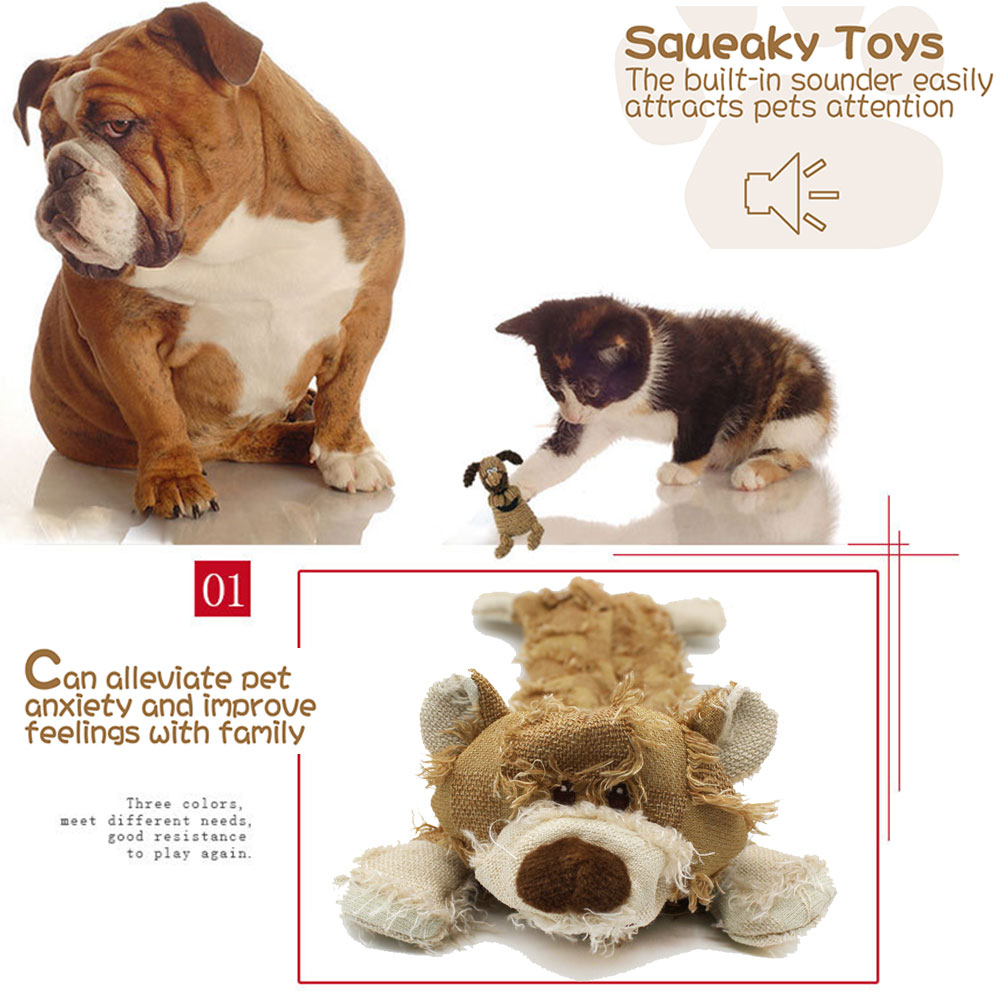 Crocodile Pet Dog Toy Tough Dog Squeaky Toy Cute Dog Teething Toy for Medium Small Dogs PIZZ ANNU Dog Plush Toy