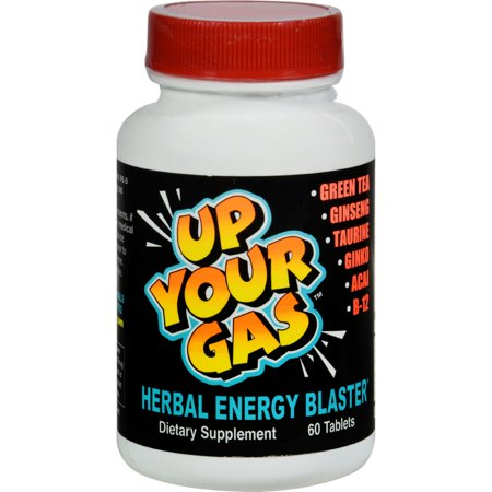 National Health Products Up Your Gas Herbal Energy Blaster, 60 ea
