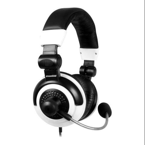 I.sound Elite Gaming Headset - Stereo - Black, White - Mini-phone - Wired - Over-the-head - Binaural - Ear-cup - 13 Ft Cable (dg-dg360-1720)