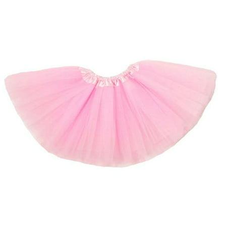 4cbe0e232 Wholesale Princess - Baby Girls Light Pink Satin Elastic Waist Ballet Tutu  Skirt 0-12M - Walmart.com