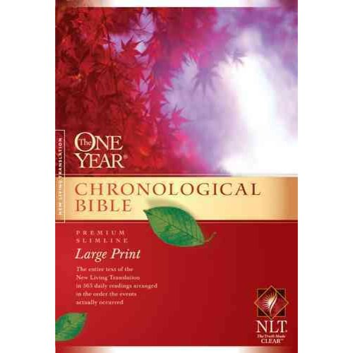 The One Year Chronological Bible: New Living Translation Premium Slimline