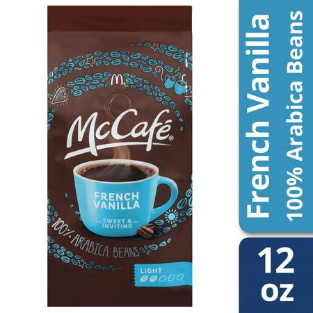 French Vanilla Flavor Oil - McCafé French Vanilla Ground Coffee, 12 oz Bag