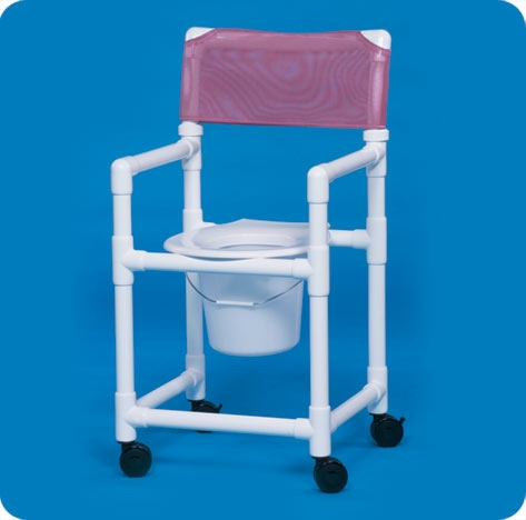 "Standard Line Shower Chair Commode - VLSC17P - VLSC20P - 41"" H x 21"" W x 21.5"" D"