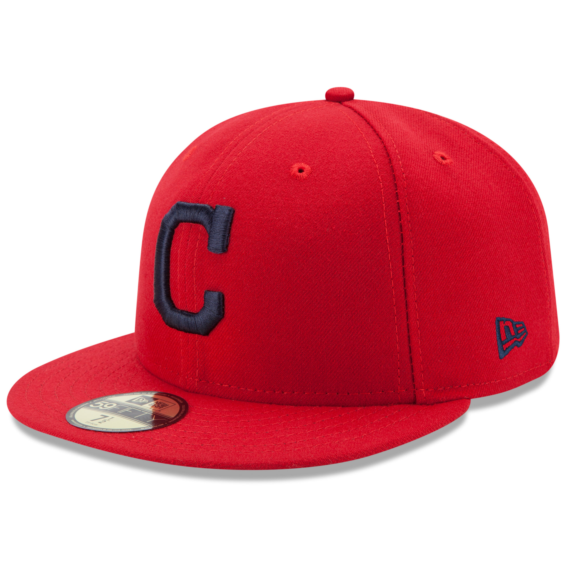 Cleveland Indians New Era Alternate Authentic Collection On Field 59FIFTY Fitted Hat - Red