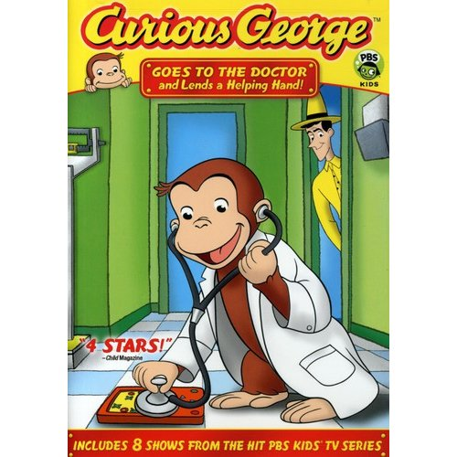 Curious George Goes To The Doctor And Lends A Helping Hand (Full Frame)