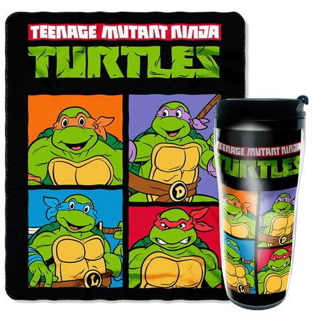 TMNT Mug and Snug Set](Ninja Turtles Cups)