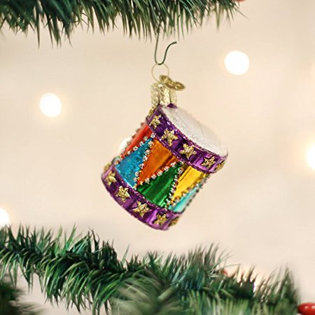 Old World Christmas Toy Drum Glass Blown Ornament - Cheap Christmas Toys