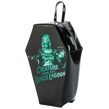 Universal Monsters Creature from The Black Lagoon PVC Coffin Backpack by Rock Rebel ()