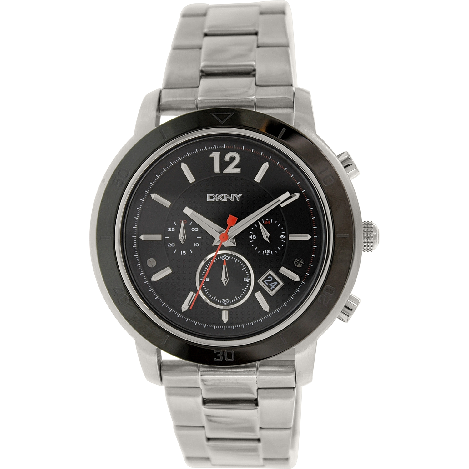 Dkny Men's Tompkins NY2164 Silver Stainless-Steel Analog Quartz Watch