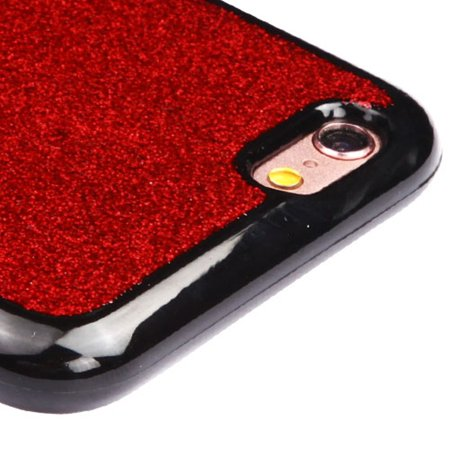 size 40 c2be4 86c01 iPhone 6s Case, iPhone 6 Case, by Insten Glittering Silver Stars (Black)  Krystal Gel Series TPU Candy Skin Case For Apple iPhone 6 / 6s - Silver