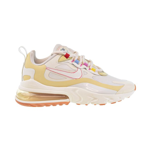Nike Air Max 270 React Women's Shoes Pale Ivory-Sail-Pale Vanilla cq0208-101