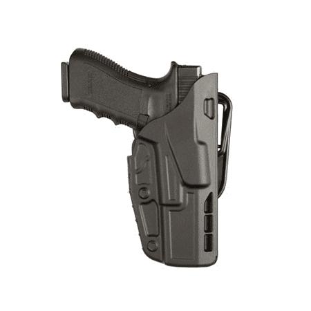 SAFARILAND 7377 7TS ALS Concealment Belt Slide Holster Finish: STX Plain Gun Fit: Glock 26 (3.5  bbl) Hand: Right