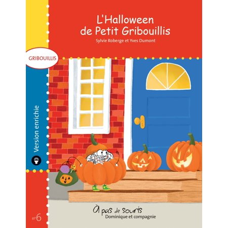 L'Halloween de Petit Gribouillis - version enrichie - eBook - Flashcards De Halloween