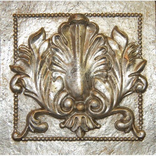 Hickory Manor House Single Acanthus Tile Wall D cor
