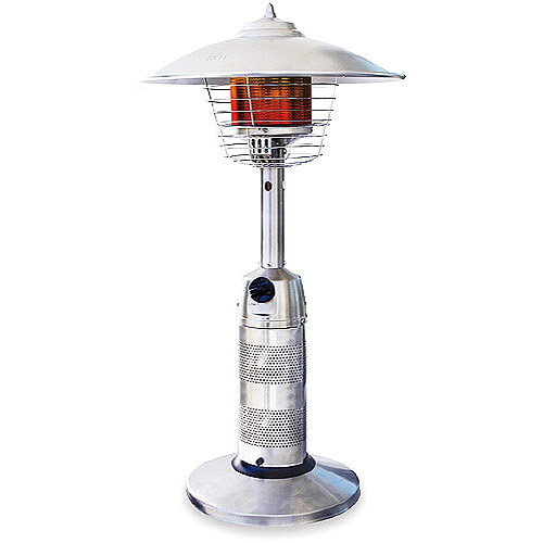 Endless Summer Stainless Steel Portable Outdoor Heater, Propane Powered
