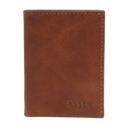 Fossil Card (Fossil Conner Card Case Cognac Bifold ML3697 )