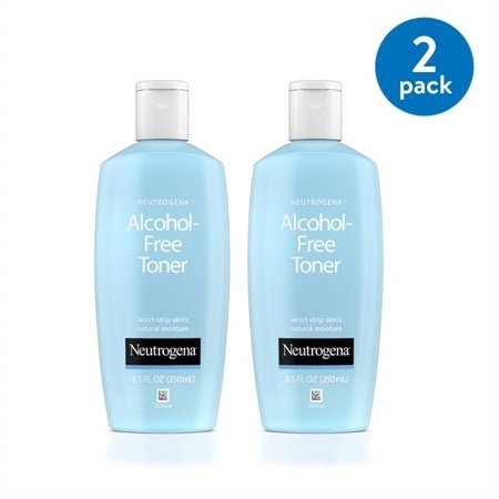 Neutrogena Alcohol-Free Facial Toner Hypoallergenic 8.5 fl. Oz (Pack of 2)