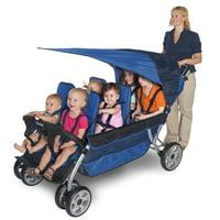 Foundations LX6 6-Passenger Stroller, Regatta Blue