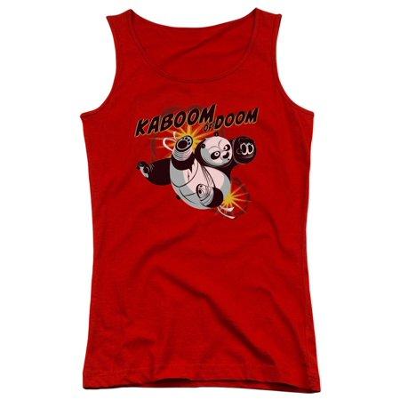 a5e16dec Trevco - Kung Fu Panda DreamWorks Animated Movie Po Kaboom Of Doom Juniors  Tank Top Shirt - Walmart.com