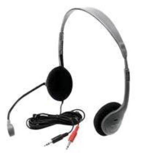 Hamilton HA2M Personal Headphone With Flexible Goose Neck Microphon