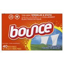 Dryer Sheets: Bounce