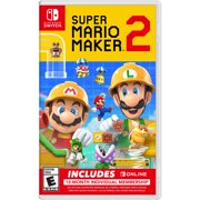 Super Mario Maker 2 + Nintendo Switch Online Membership Bundle, Nintendo, Nintendo Switch, 045496596699