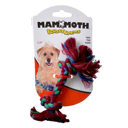 Flossy Rope (Flossy Chews Colored Rope Bone Small - Mini - (6