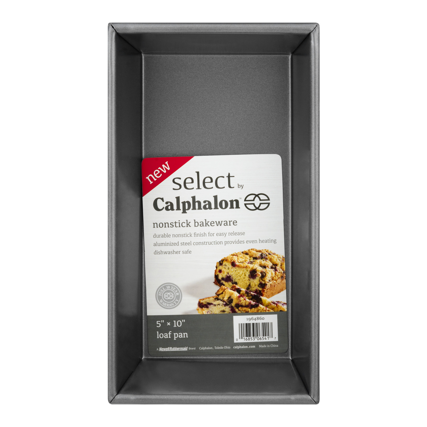 "Select by Calphalon Nonstick Bakeware 5"" x 10"" Loaf Pan, 1.0 CT"