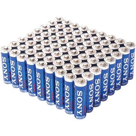 Sony SAA-12BULK Stamina Plus Alkaline Bulk Batteries, - Plus Alkaline Batteries
