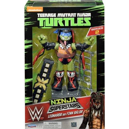 Leonardo As Demon Finn Balor Tmnt Wwe Ninja Turtles Superstars 2