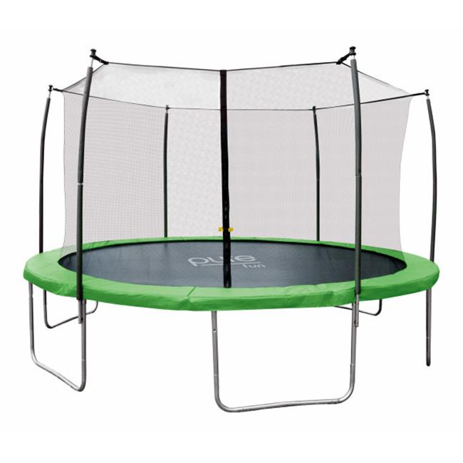 12 ft. Pure Fun Dura-Bounce Trampoline with Enclosure