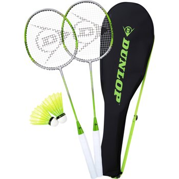 Dunlop 2-Player Premium Badminton Racquet Set