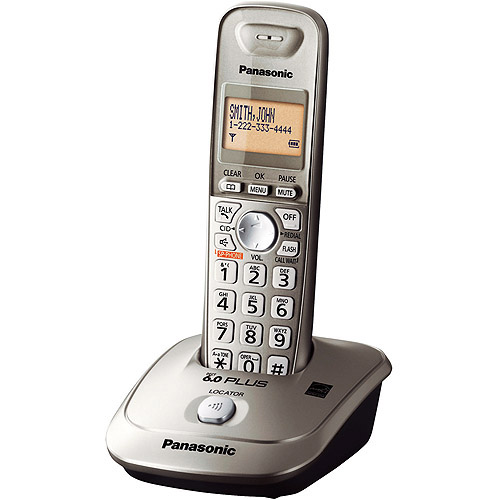 Panasonic KX-TG4011N DECT 6.0 Plus Expandable Cordless Phone w/ 1 Handset
