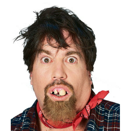 Rotten Halloween Teeth (Rubies Costume Co 2163-T34T Stay Put Doofas)