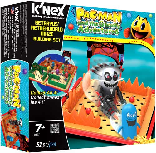 Pac-Man Pac Man and the Ghostly Adventures Betrayus' Netherworld Maze Set