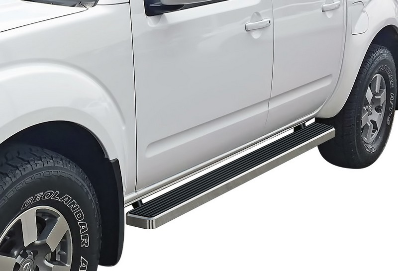 2005-2019 Nissan Frontier Crew Cab Hairline Finish 4 Inch