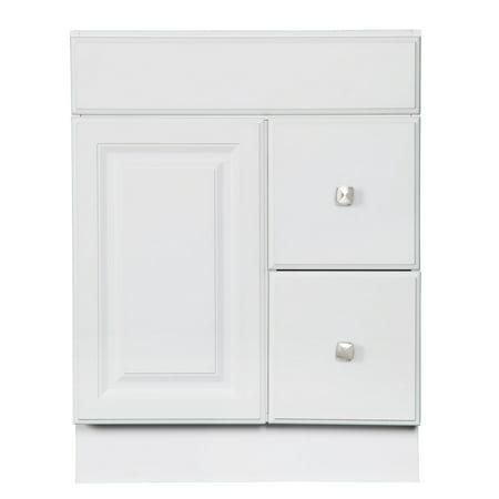 Design House 545053 Wyndham Unassembled 1-Door 2-Drawer Vanity without Top, 24