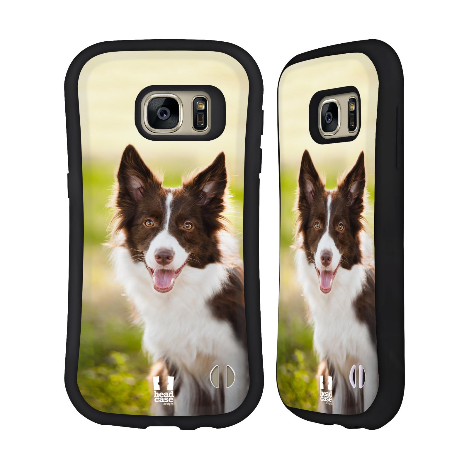 HEAD CASE DESIGNS POPULAR DOG BREEDS HYBRID CASE FOR SAMSUNG PHONES