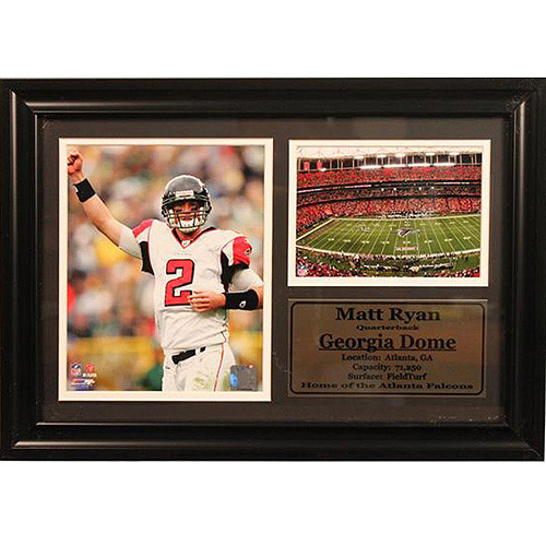 NFL Matt Ryan Photo Stat Frame, 12x18