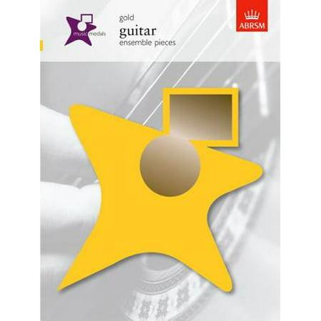 Music Medals Gold Guitar Ensemble Pieces